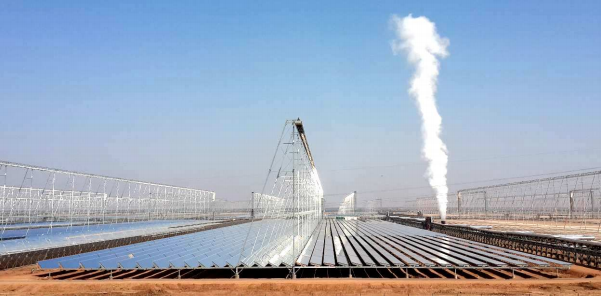 World S Largest Clfr Solar Concentrator Powered By