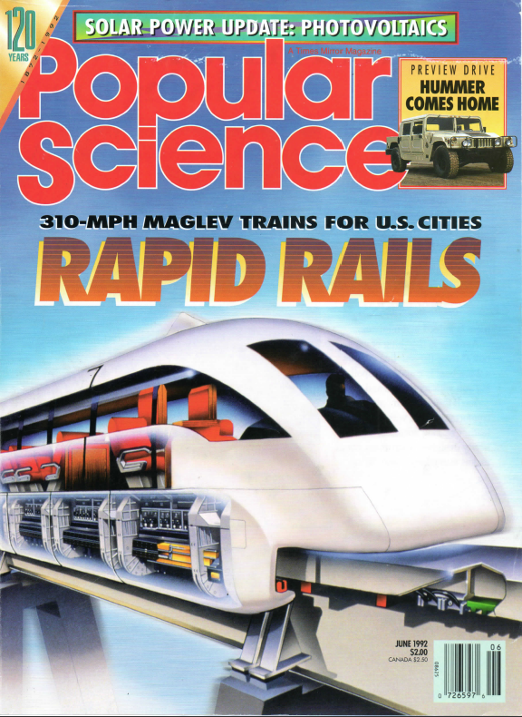 popular science june 1992